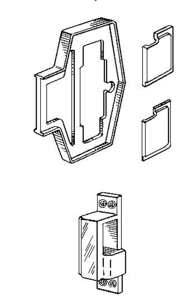 simplex 800 kit for 900 series metal frames [ 819 x 1280 Pixel ]