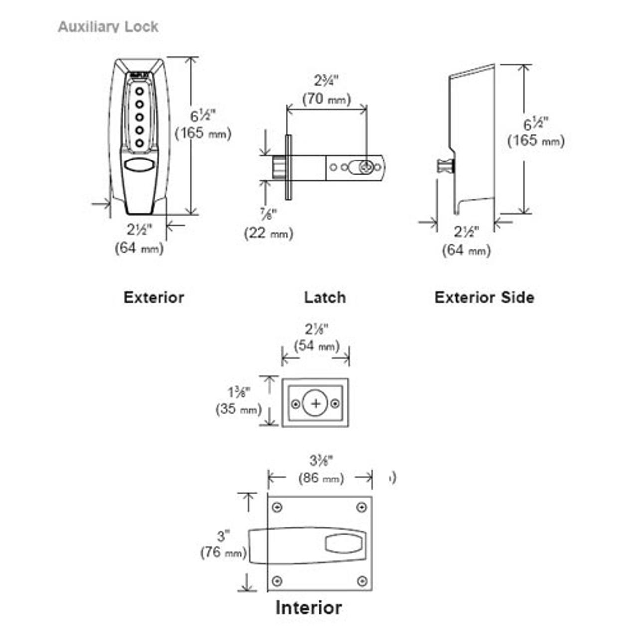 hight resolution of 7106 19 41 simplex pushbutton keyless latch lock in black lock simplex lock diagram source