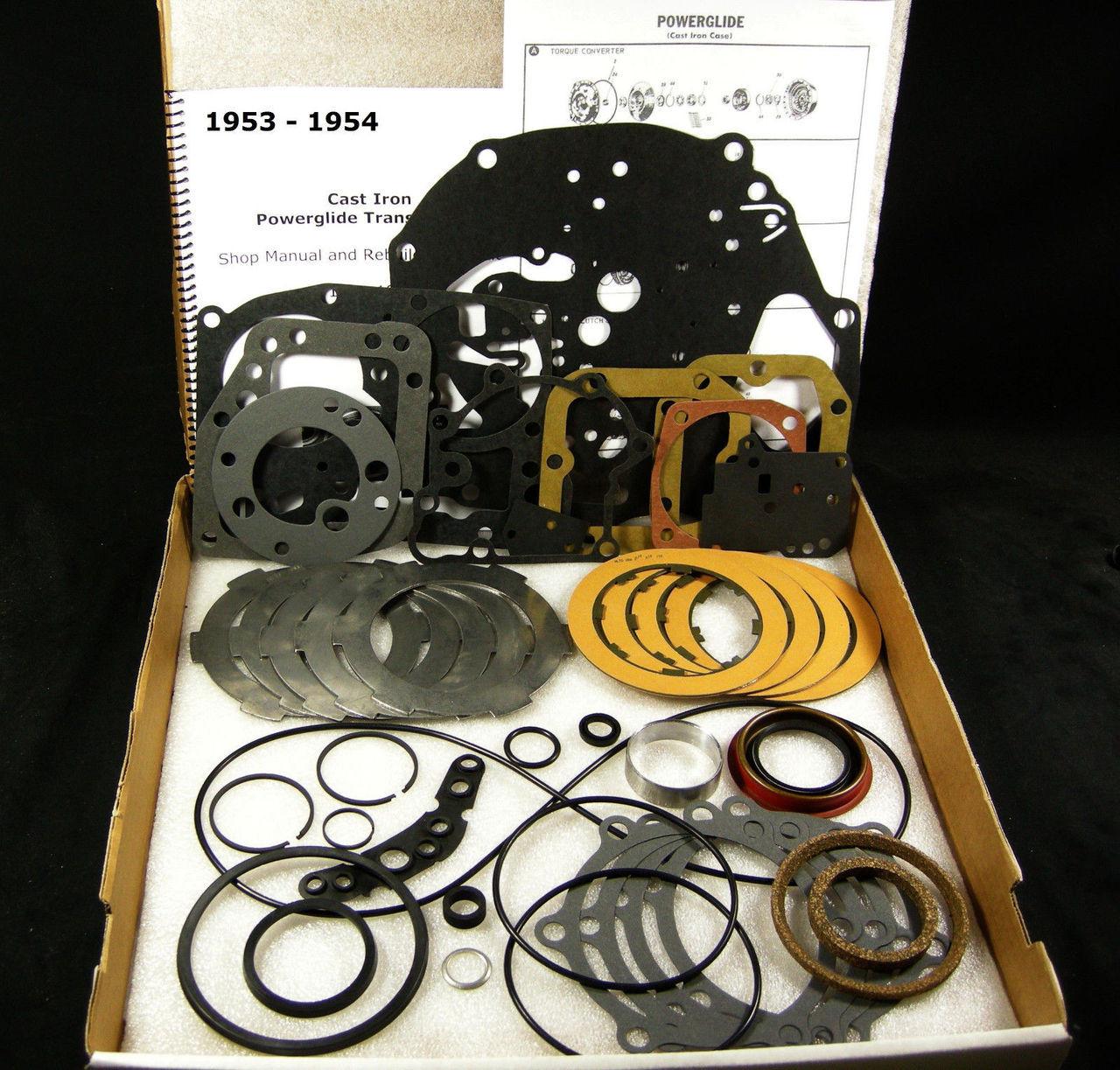 hight resolution of 1953 54 cast iron powerglide transmission rebuild overhaul part kit cast iron powerglide transmission diagram