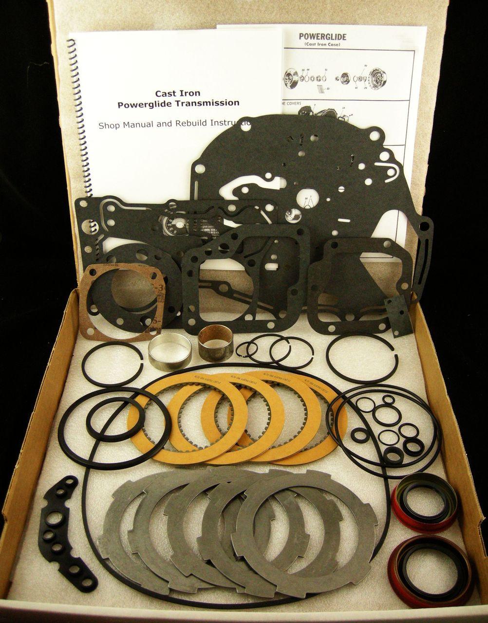 medium resolution of cast iron powerglide master rebuild kit 1958 1959 1960