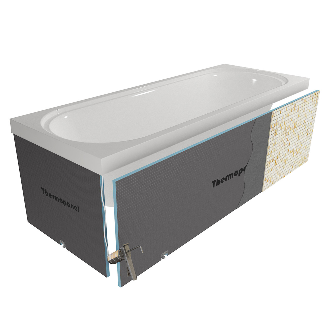 thermopanel tileable bath panels