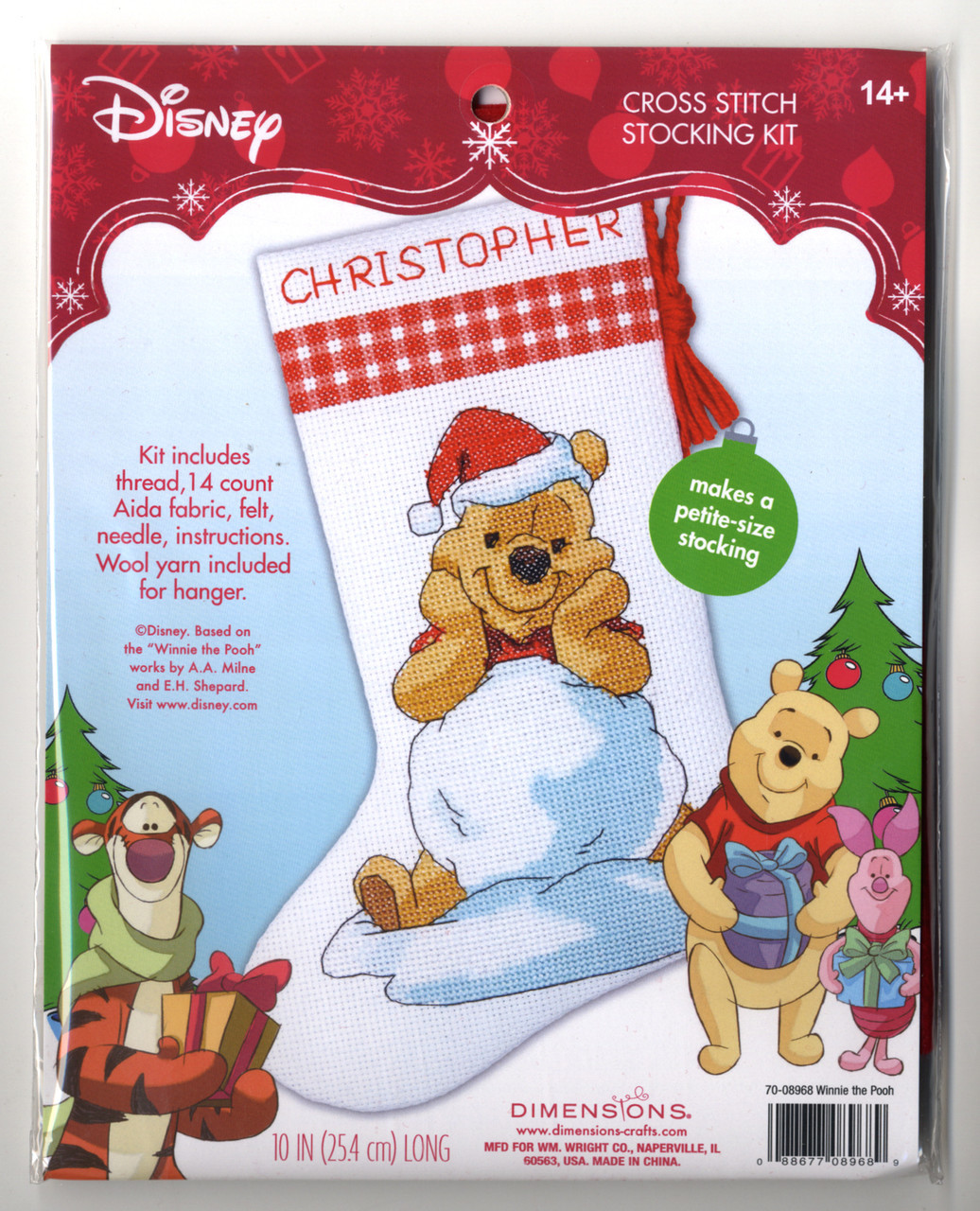Disney - Winnie Pooh Petite Size Stocking