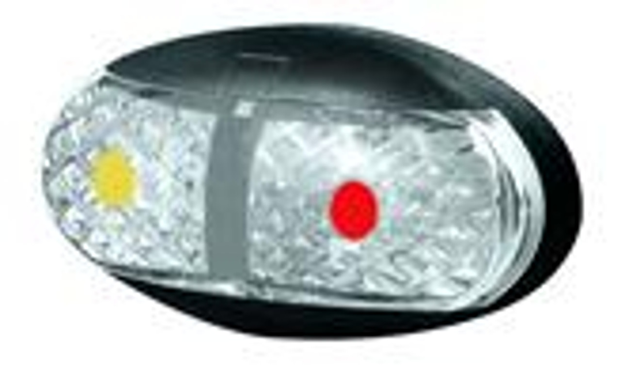 medium resolution of roadvision side marker amber red marker led light 2 5m wiring harness white
