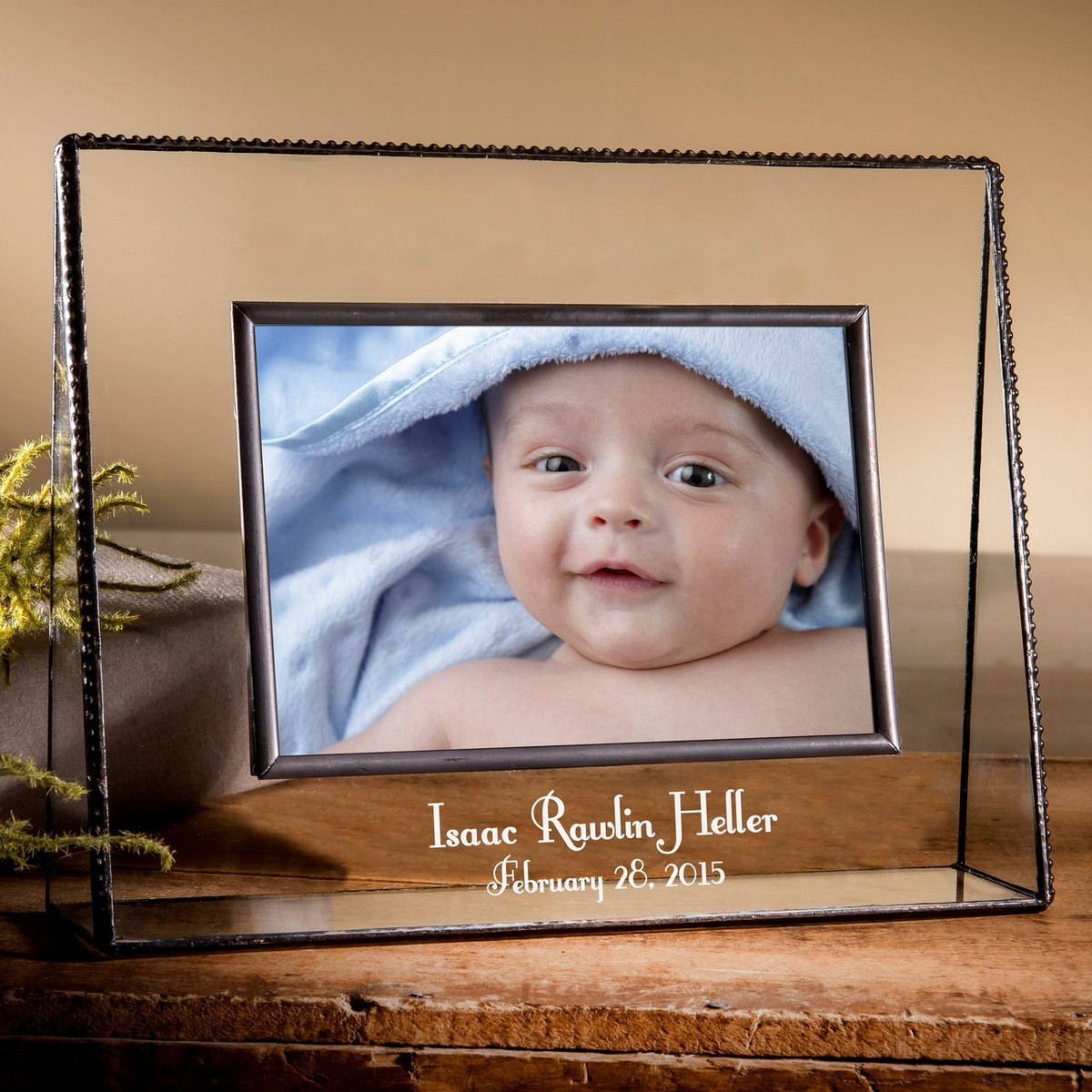 baby personalized engraved horizontal