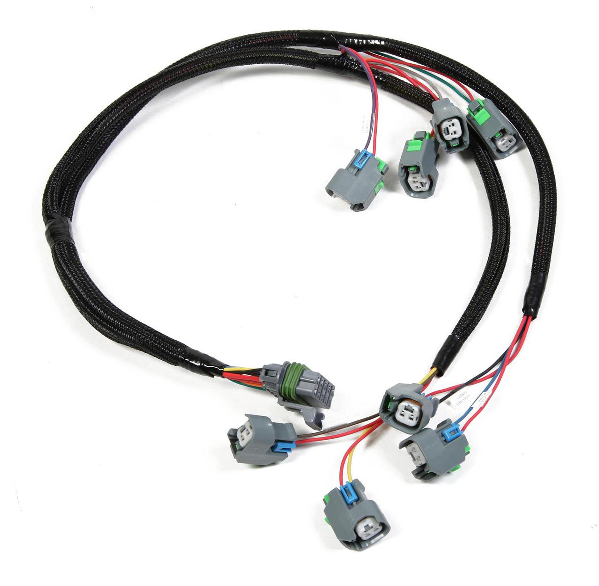 holley fuel injection wiring harness for lsx engines part hly 558 fuel injector wiring harness ford fuel injector wiring harness [ 1280 x 1253 Pixel ]