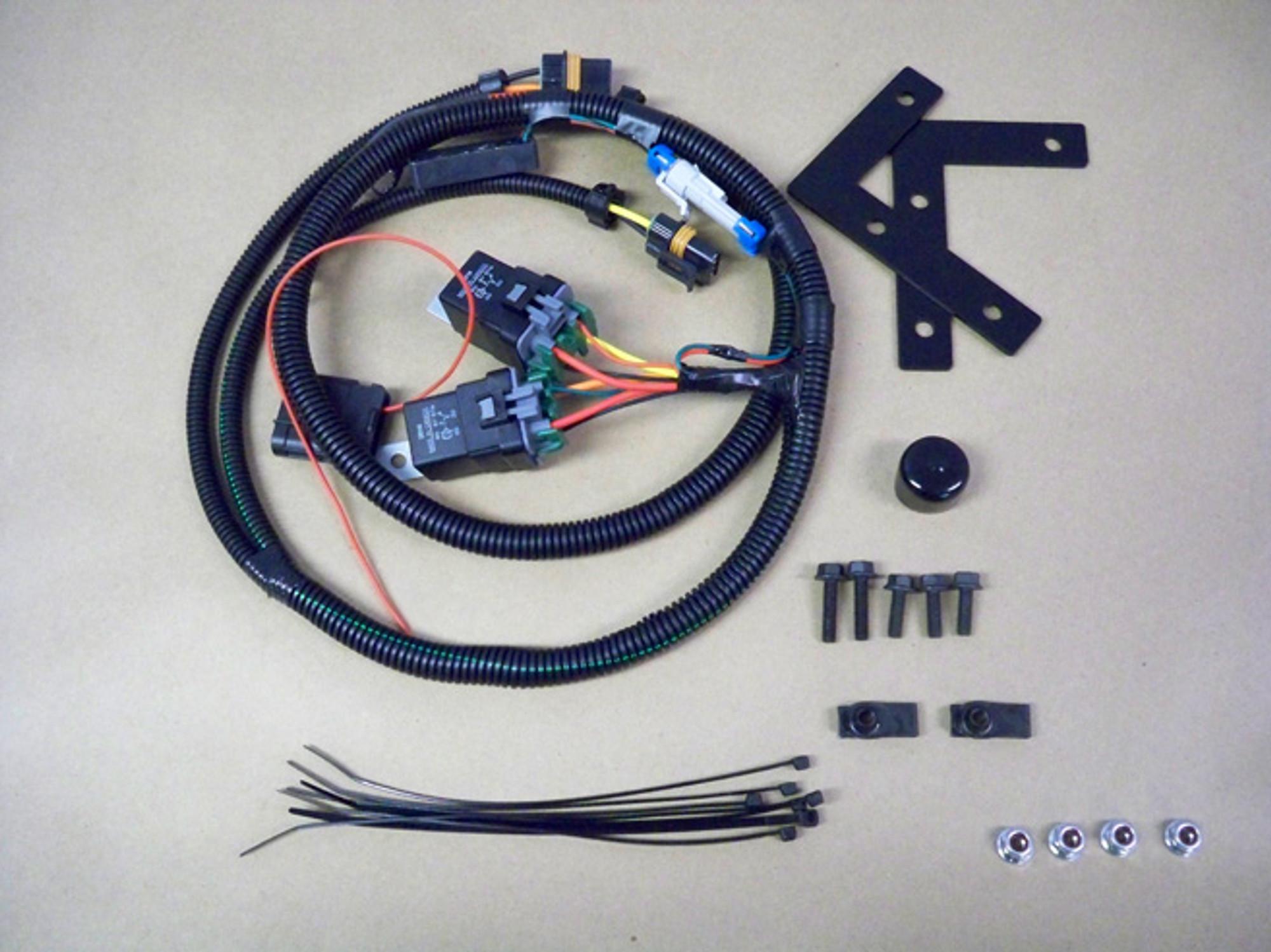 small resolution of pcmforless 2007 trailblazer ss ls1 dual fan conversion kit tick performance inc