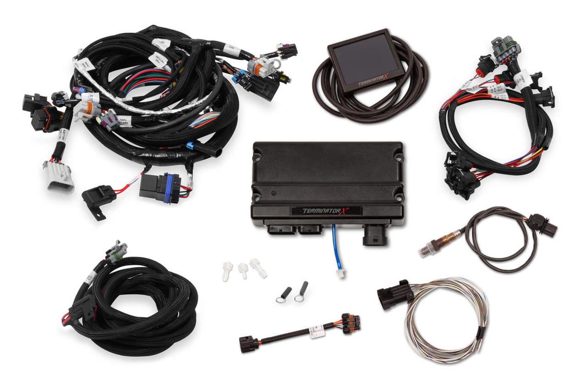 hight resolution of holley efi terminator x ls1 24x 1x mpfi kit 550 903