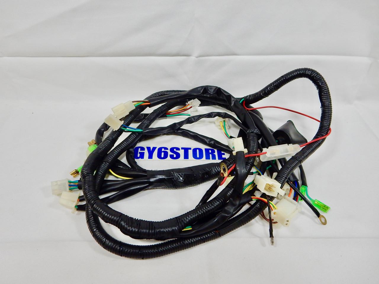 medium resolution of taotao lancer 150cc evo 50cc scooter complete wiring harness oem