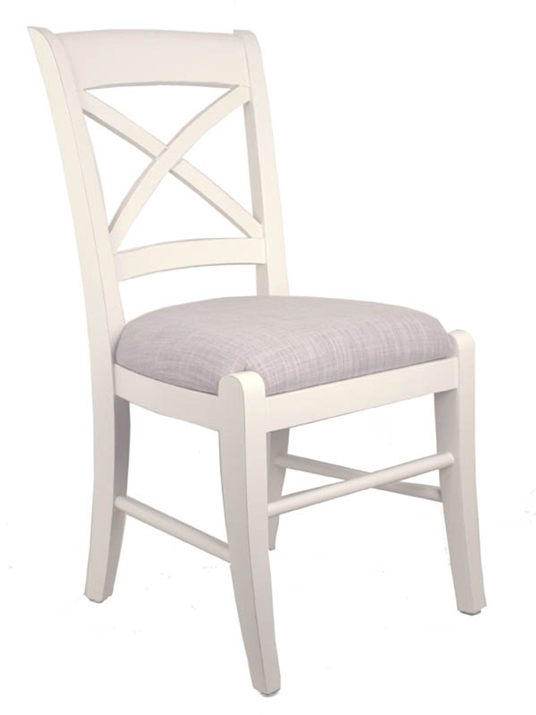 cross back dining chairs white used chair covers for sale bella house a cr french modern classic cream bisque