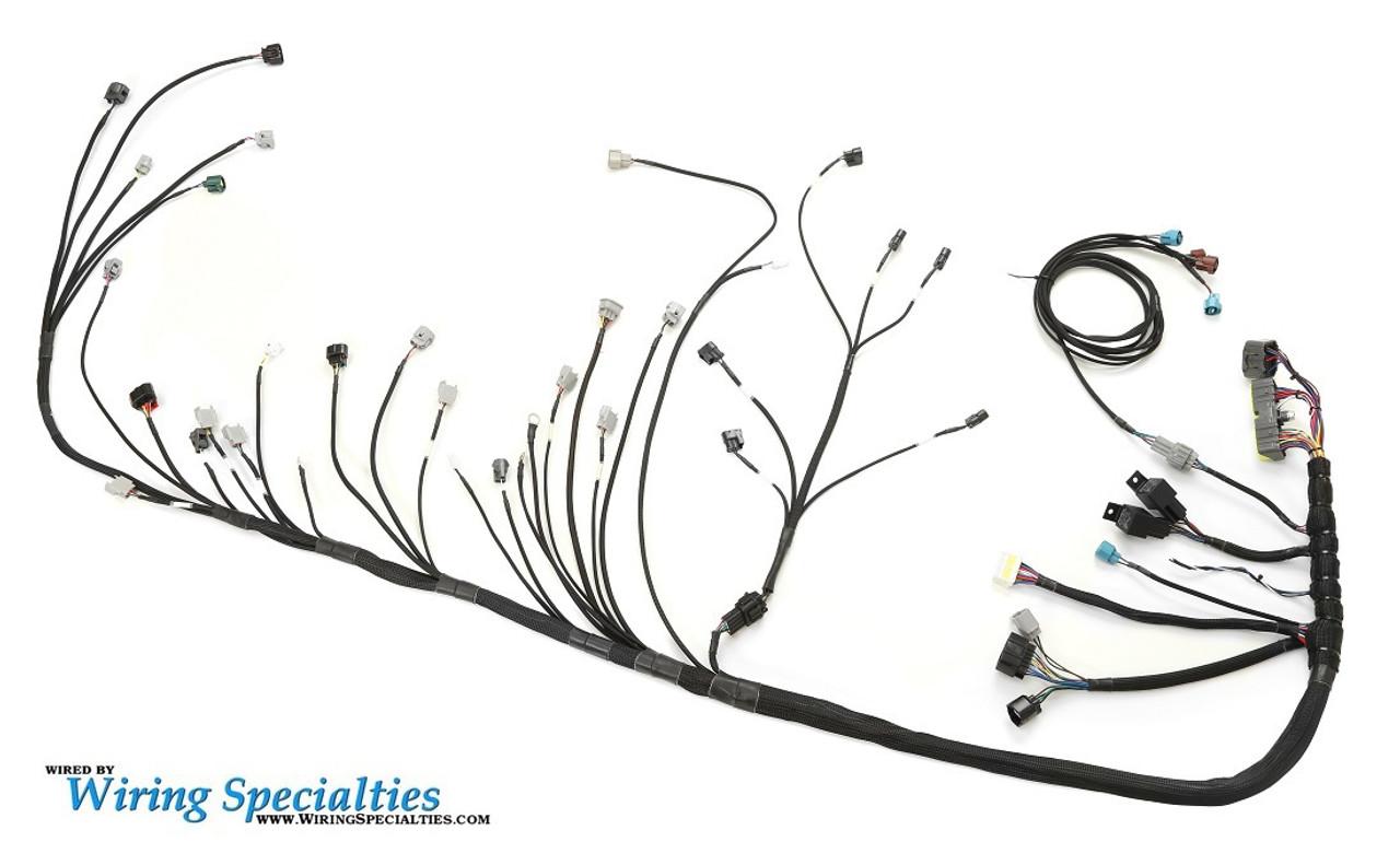 hight resolution of wiring specialties pro series harness for mazda rx7 fd w 2jzgte enjuku racing parts llc