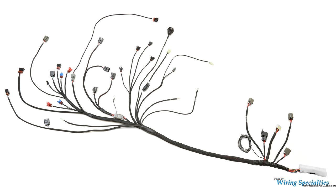 wiring specialties pro series ca18det harness for nissan 240sx 180sx 240sx wiring harness diagram 240sx wiring harness [ 1280 x 712 Pixel ]