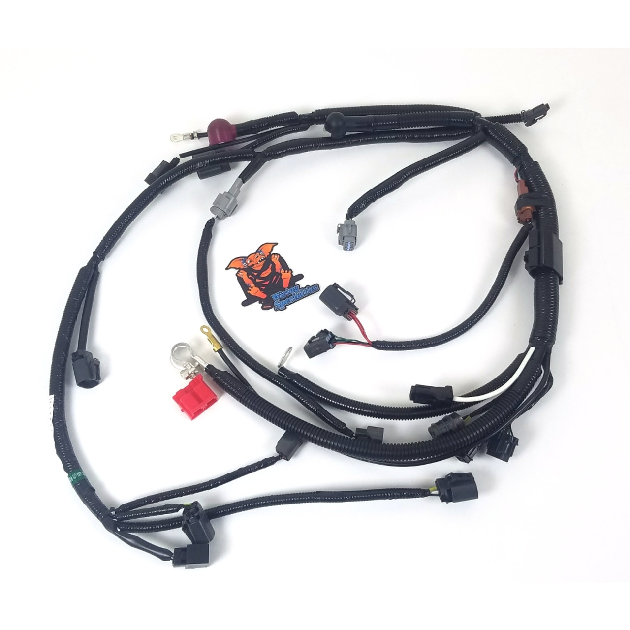 hight resolution of wiring specialties s14 ka24de lower harness for 240sx s14 ka24de wiring harness diagram ka24de wiring harness