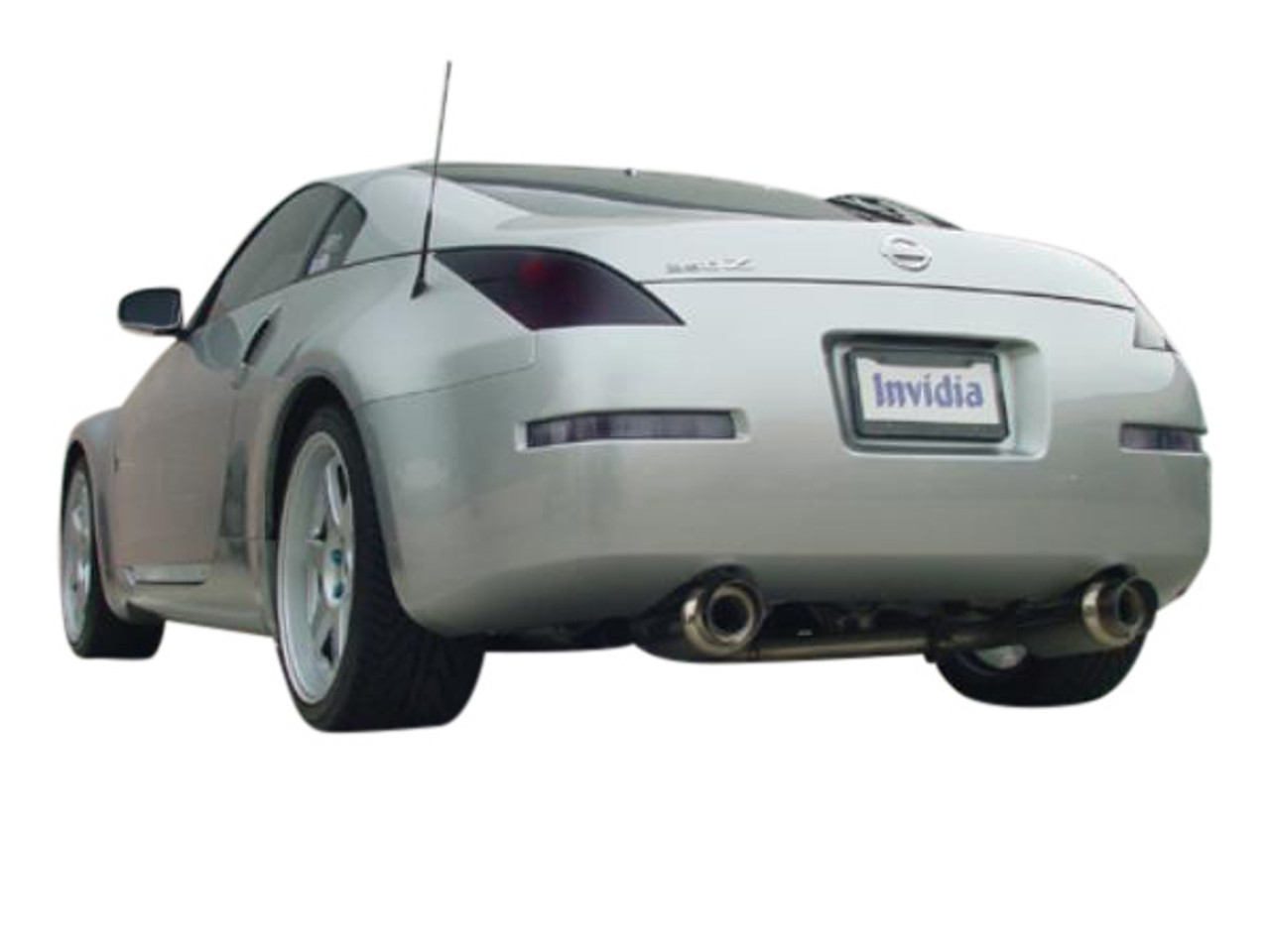 invidia n1 exhaust for 350z 03 09
