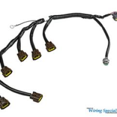 Rb25det S13 Wiring Diagram Simplicity Regent 14 Nissan Rb20 Rb25 Rb26 Harness Enjuku Racing Specialties Oem Series Coil Pack For 1
