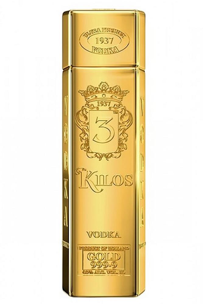 3 kilos gold vodka