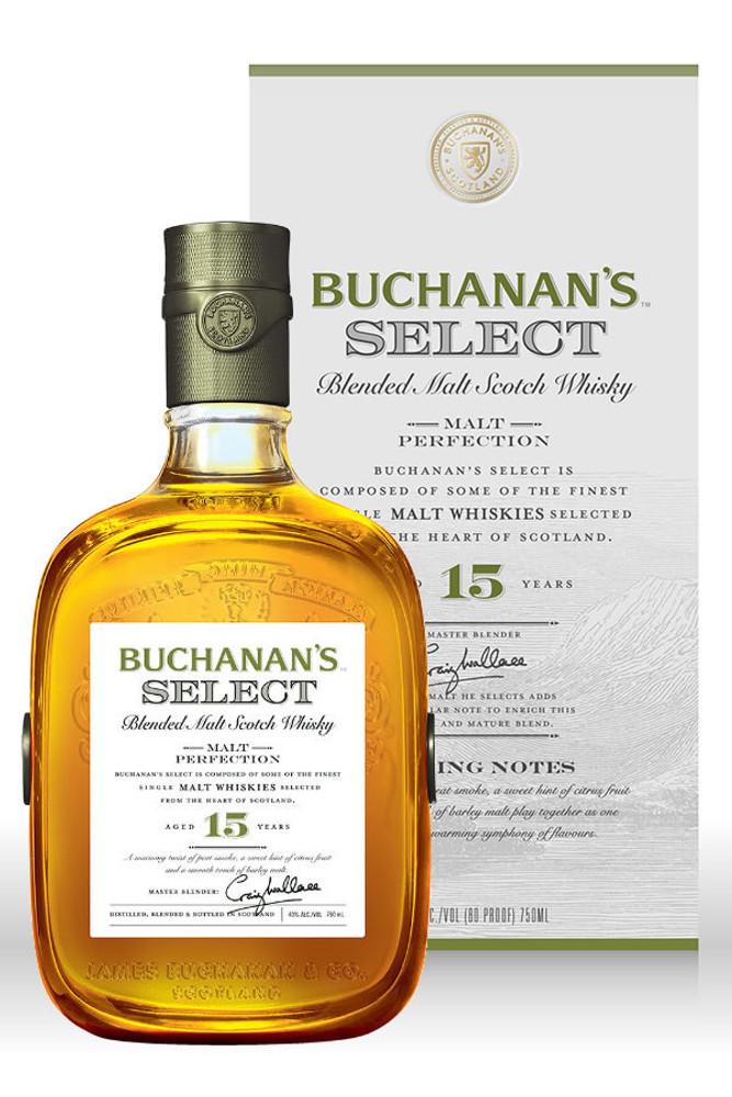 Buchanans Select Blended Malt Scotch Whisky