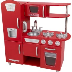 Kidkraft Toy Kitchen Pot Retro Red On Sale Cheapest Prices Online Fast Kids Wooden In