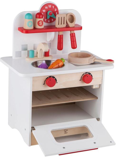 retro kids kitchen slim storage hape mini on sale play food sets