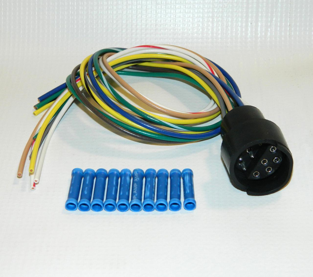 hn38813075 hiniker plow side 10 pin pigtail repair kit croft trailer supply [ 1280 x 1130 Pixel ]