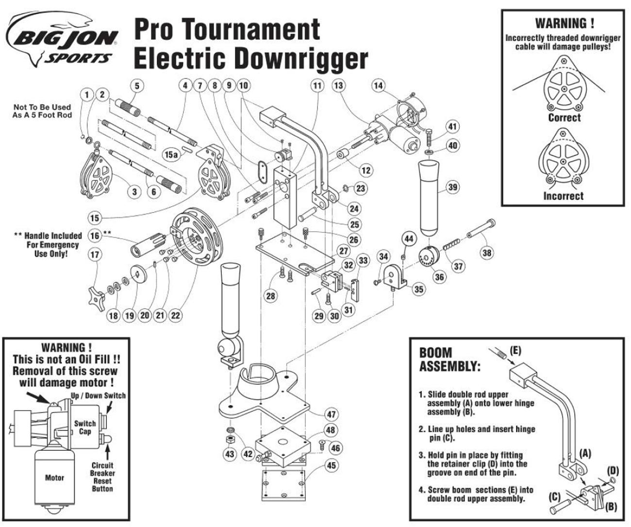 Big Jon Replacement Parts