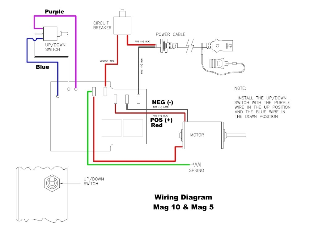 cannon downrigger wiring diagrams - 5 wire led diagram