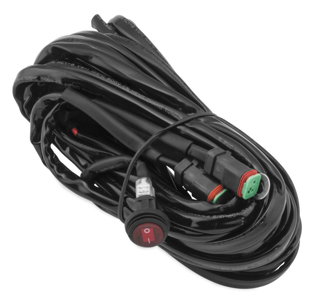 hight resolution of quadboss led wiring harness for two lights