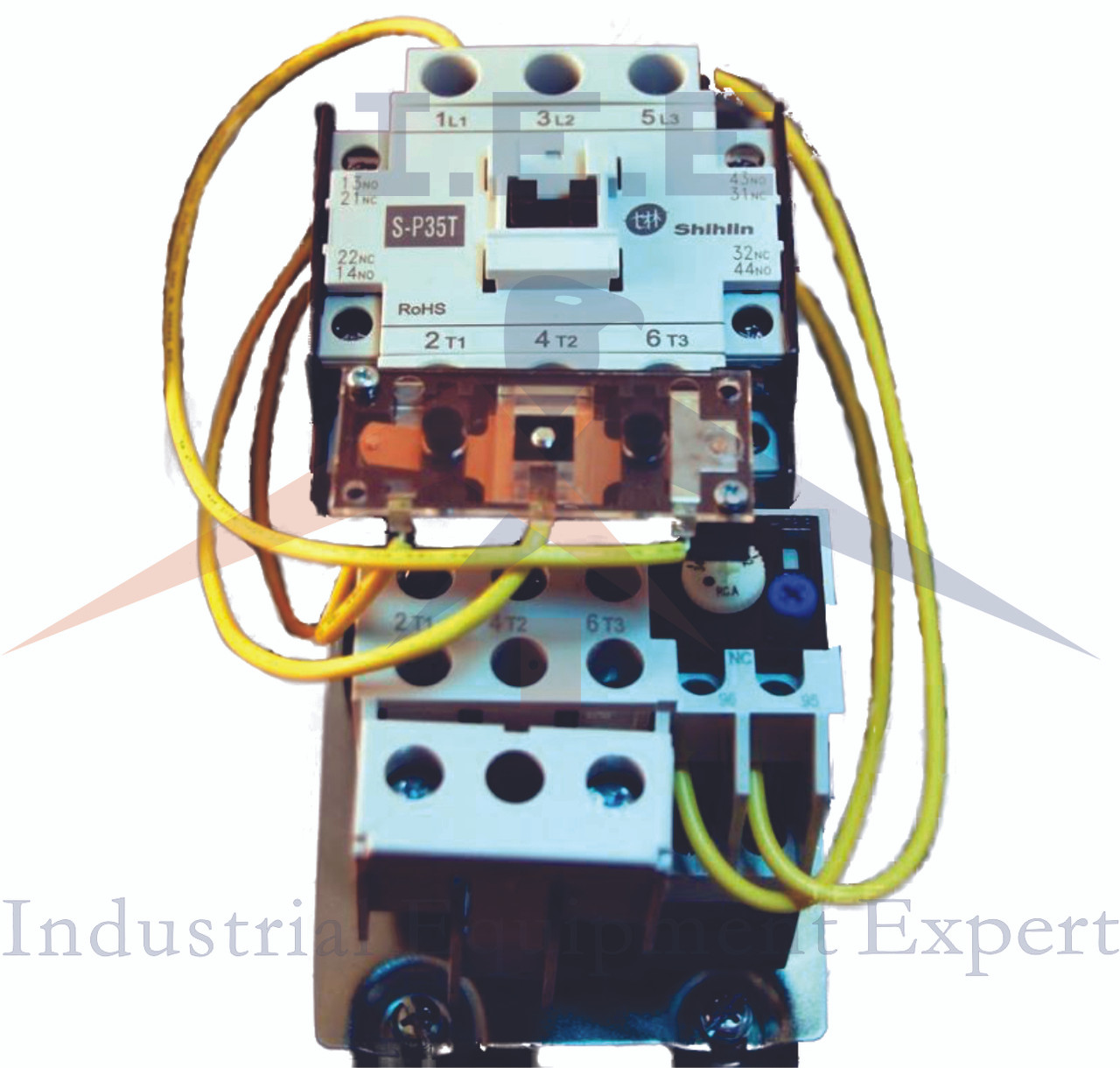 medium resolution of  electric motor starter wiring 2 5hp single phase 230v 34amp on off button magnetic motor startera 5