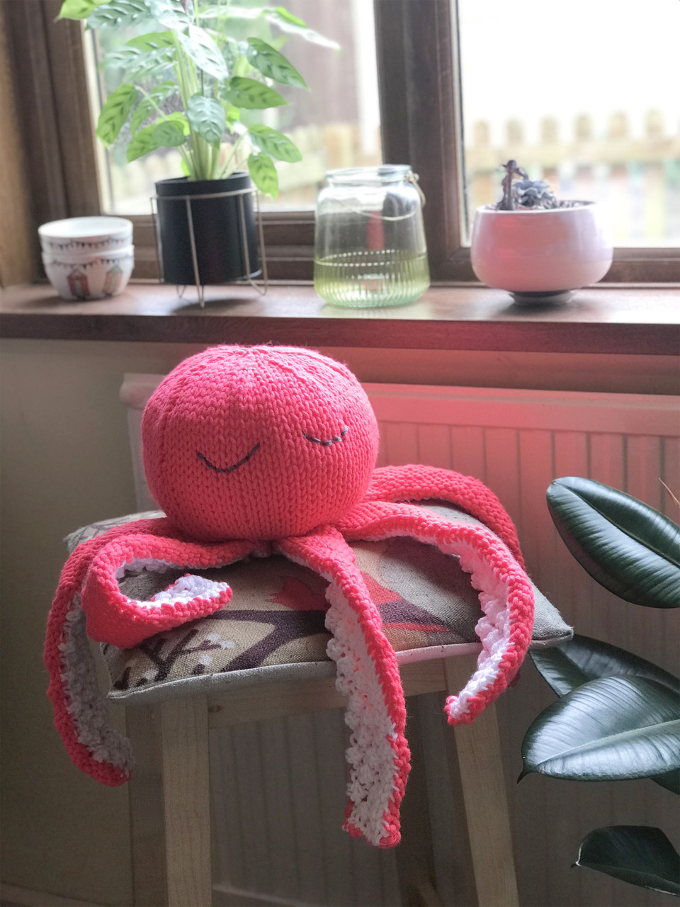 Octopus Knitting Pattern : octopus, knitting, pattern, Friendly, Octopus, Knitting, Pattern, Horse