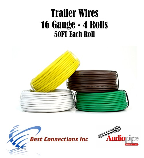 small resolution of car audio video installation 6 way flexible cord trailer wire harness light cable led 18