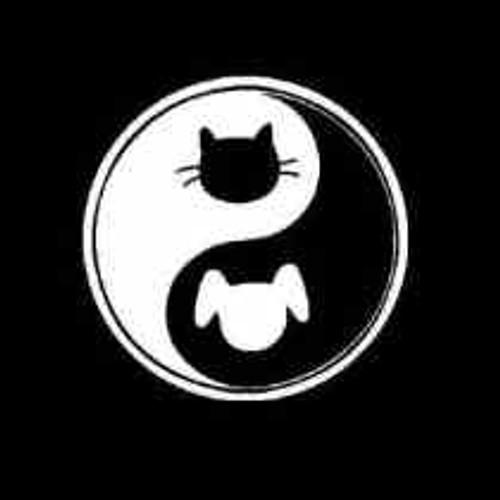 dog cat yin yang