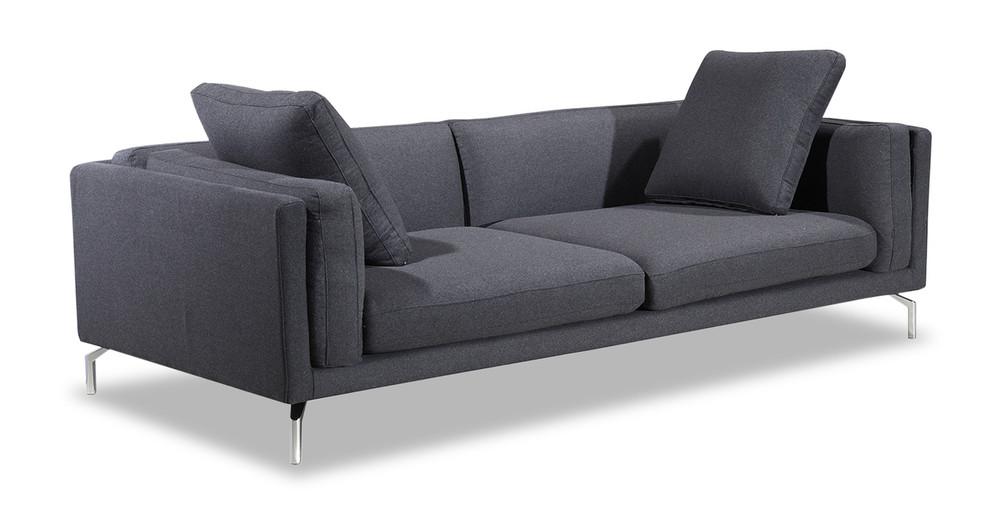 loft charcoal sofa bed feet protectors basil kardiel