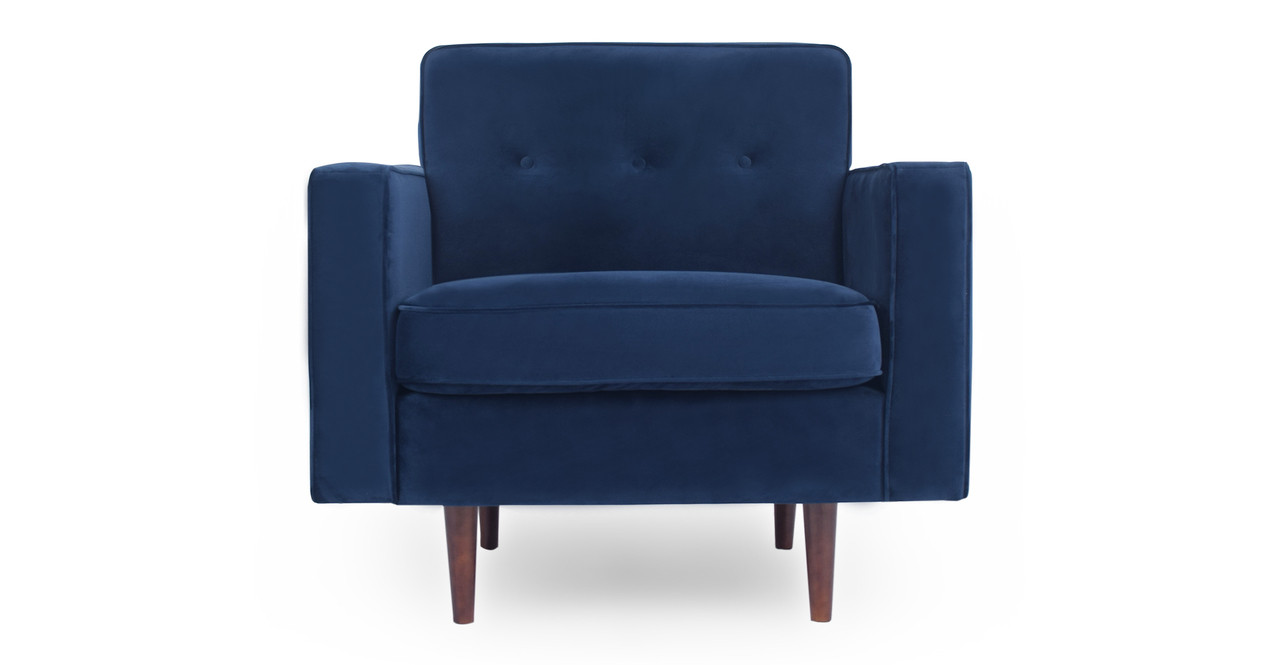 Royal Blue Chair Eleanor 35