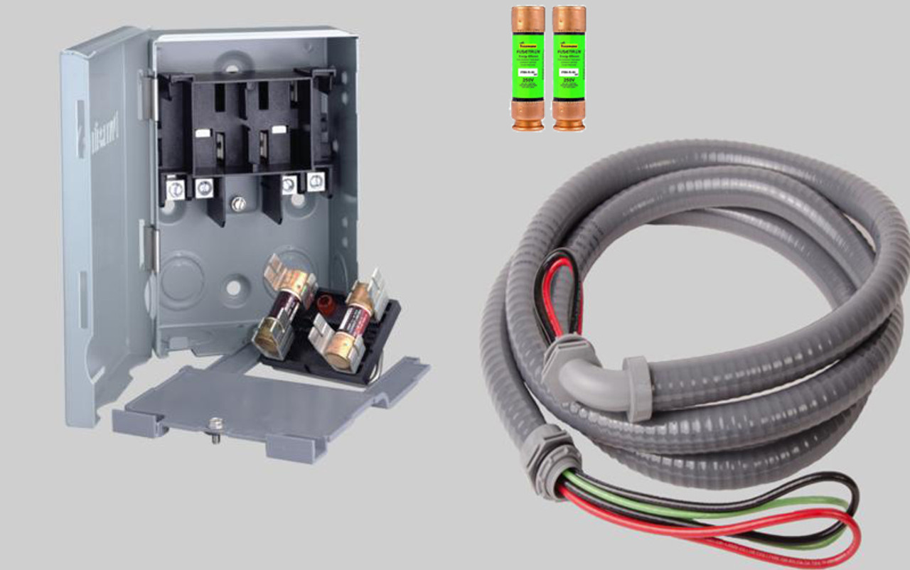 quick disconnect 60 amp switch kit for mini split air conditioner systems [ 1280 x 802 Pixel ]