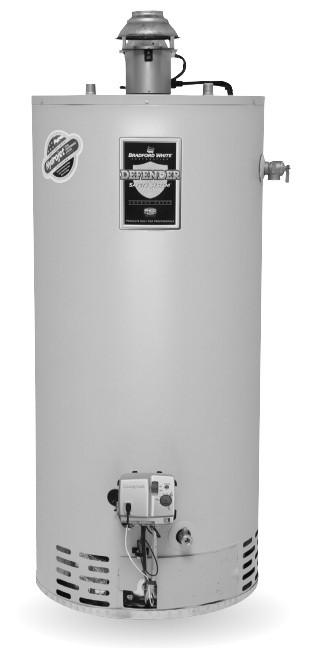 Bradford White Water Heater Temperature Setting : bradford, white, water, heater, temperature, setting, Bradford, White, RG1D40S6X, Gallon,, Damper, Atmospheric, Water, Heater