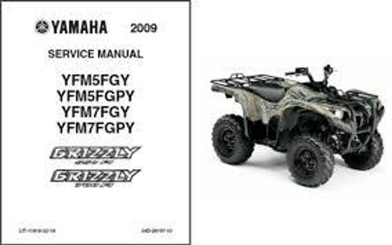 ATV service manual Yamaha Honda Polaris Kawasaki