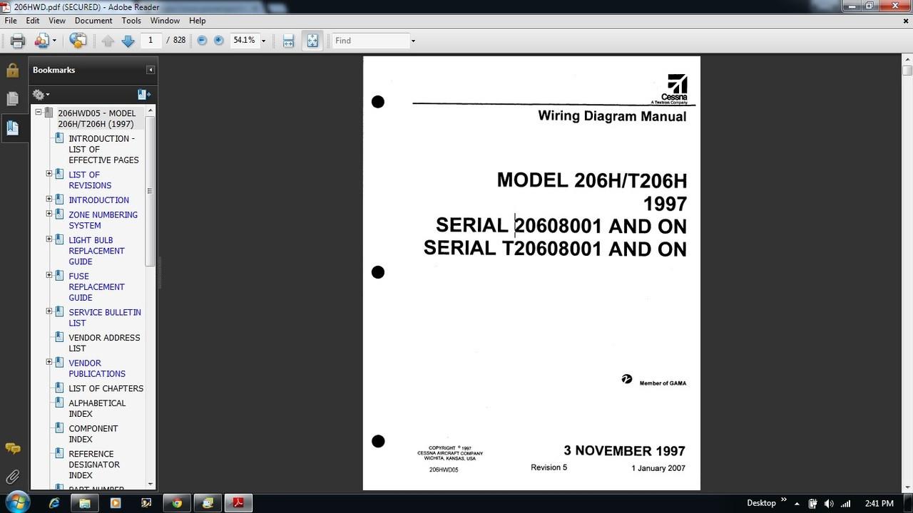 cessna 206 wiring diagram electrical manual 206h t206h 206hwd cessna 172 cockpit diagram wiring diagram for a cessna [ 1280 x 720 Pixel ]
