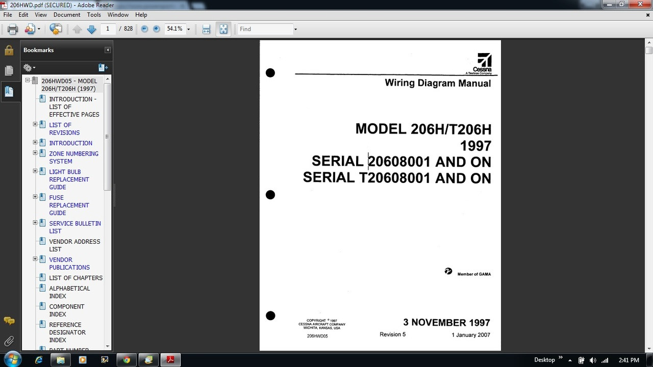 hight resolution of cessna 206 wiring diagram electrical manual 206h t206h 206hwd cessna 172 cockpit diagram wiring diagram for a cessna