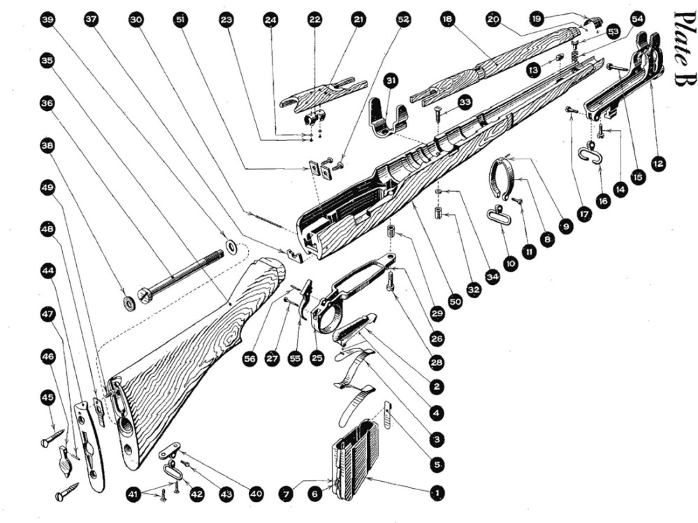 medium resolution of ar 15 diagram with part name