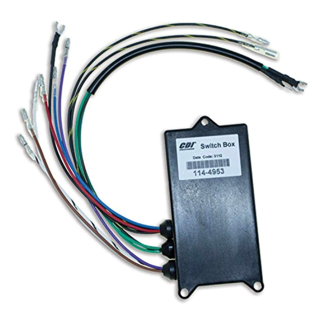 small resolution of mercury outboard 65hp 90hp 1993 97 switch box 114 4953 happiemac marine