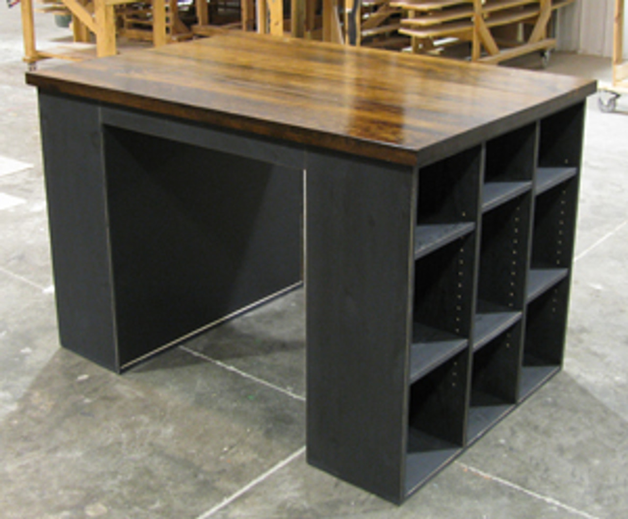 Wooden Crafting Table Solid Wood Crafting Table Sawdust City Llc