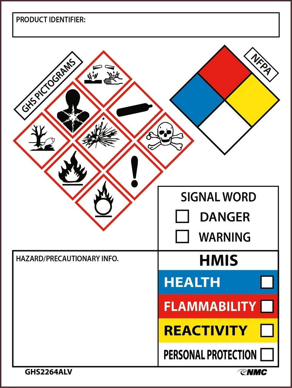 Osha Secondary Container Label Template : secondary, container, label, template, Secondary, Container, Label, Juleteagyd
