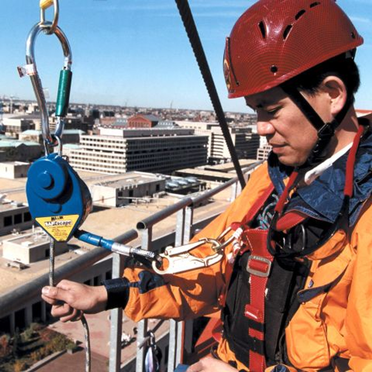 Miller SafEscape Elite Rescue/Descent Device Crane Rescue Kit [50FT - 650FT] SECRKT/ - Jendco Safety Supply