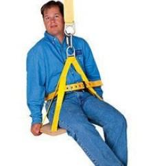 Bosun Chair Rental Patio Sling Fabric Fall Protection Chairs Belts Seats Page 1 Jendco 3m Dbi Sala With Belt 1001132 Small