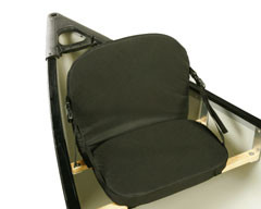 canoe chair fold up beds pelican adjustable padded lavika