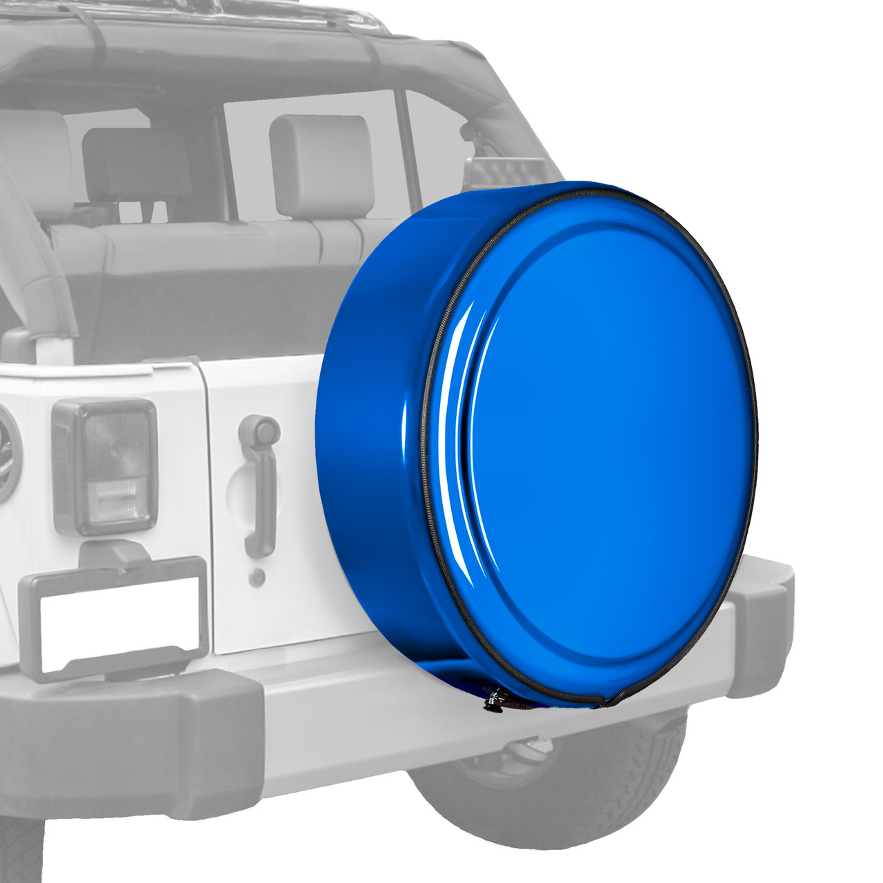 hight resolution of jeep wrangler jk fully painted masterseries hard shell tire cover