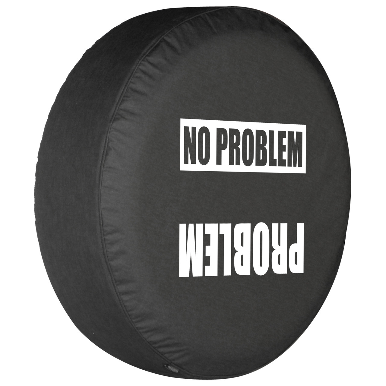 problem no problem soft denim vinyl tire cover by boomerang [ 1280 x 1280 Pixel ]