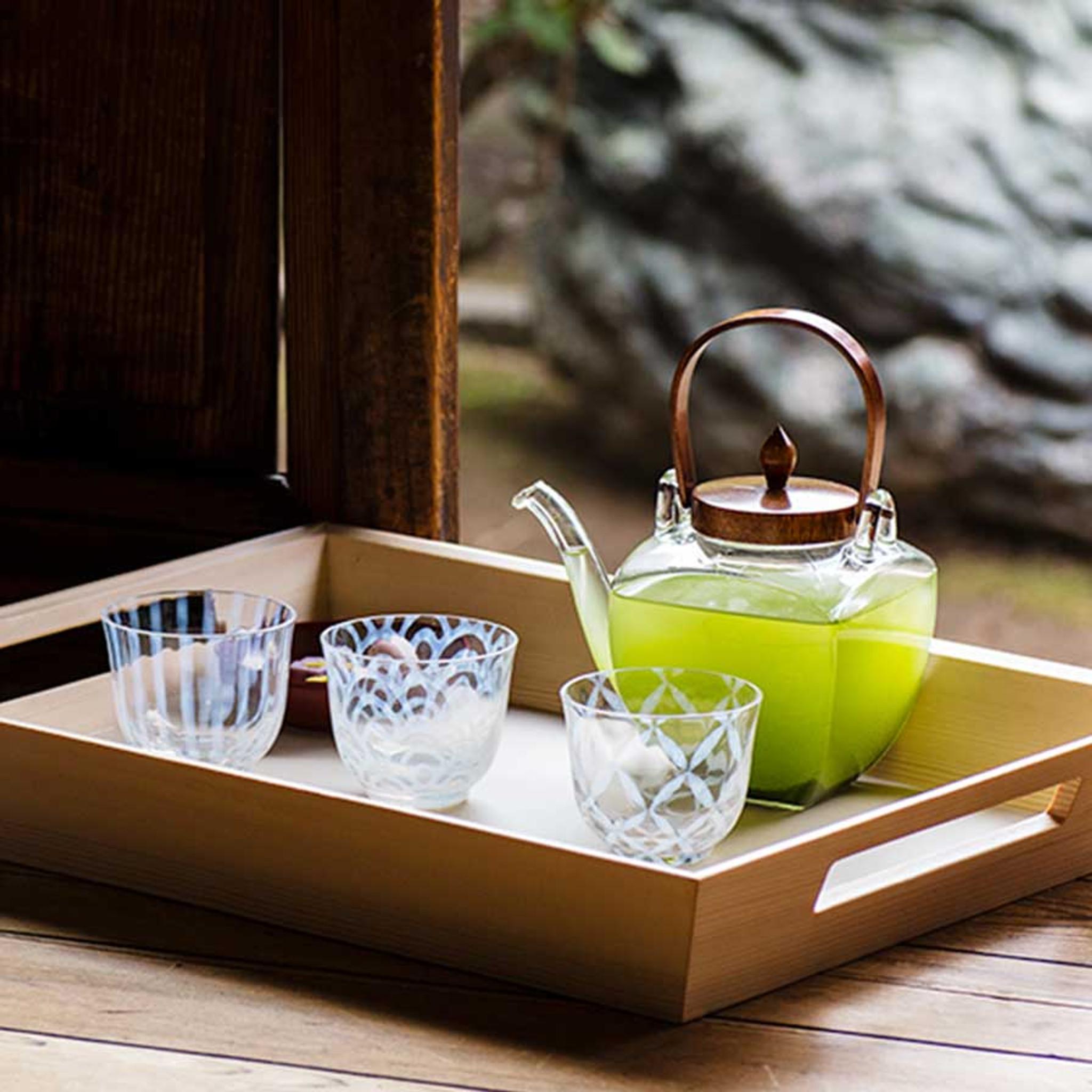 theiere japonaise avec couvercle en bois