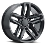 20 Fits Z71 Trail Boss Chevrolet Tahoe Gmc Denali Sierra Escalade Wheels Chevy 1500 Gloss Black Set Of 4 20x9 Rims Stock Wheel Solutions