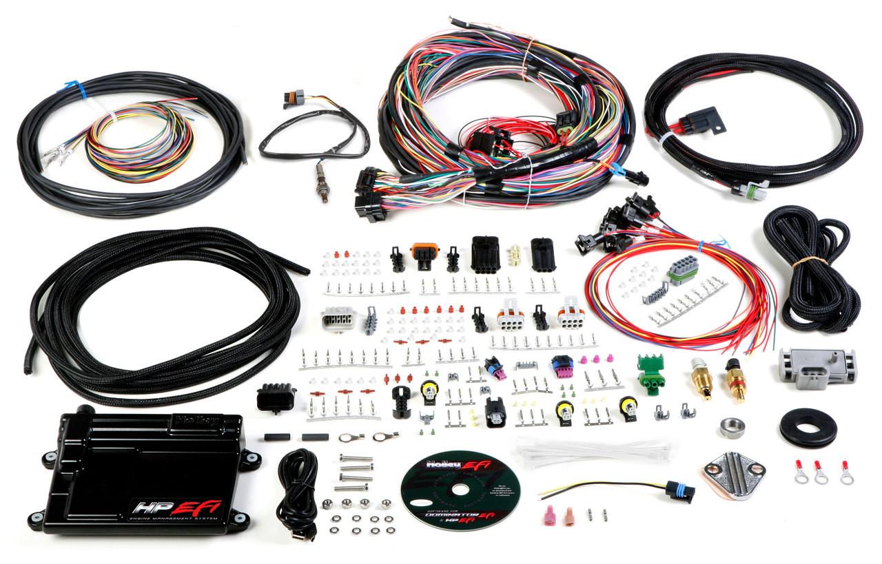 medium resolution of holley efi hp ecu and unterminated harness ntk o2 sensor