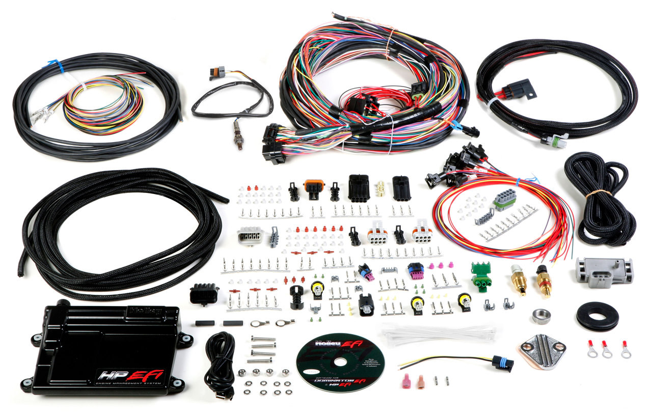 hight resolution of holley efi hp ecu and unterminated harness ntk o2 sensor